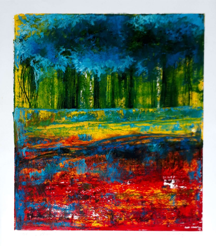 ASK Wilderness 55 x 65 cms $900