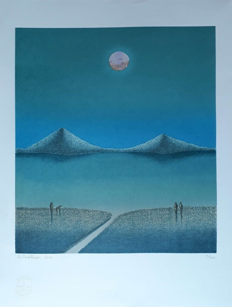 AA Nocturno Ometepe $350 70 x 50 cms